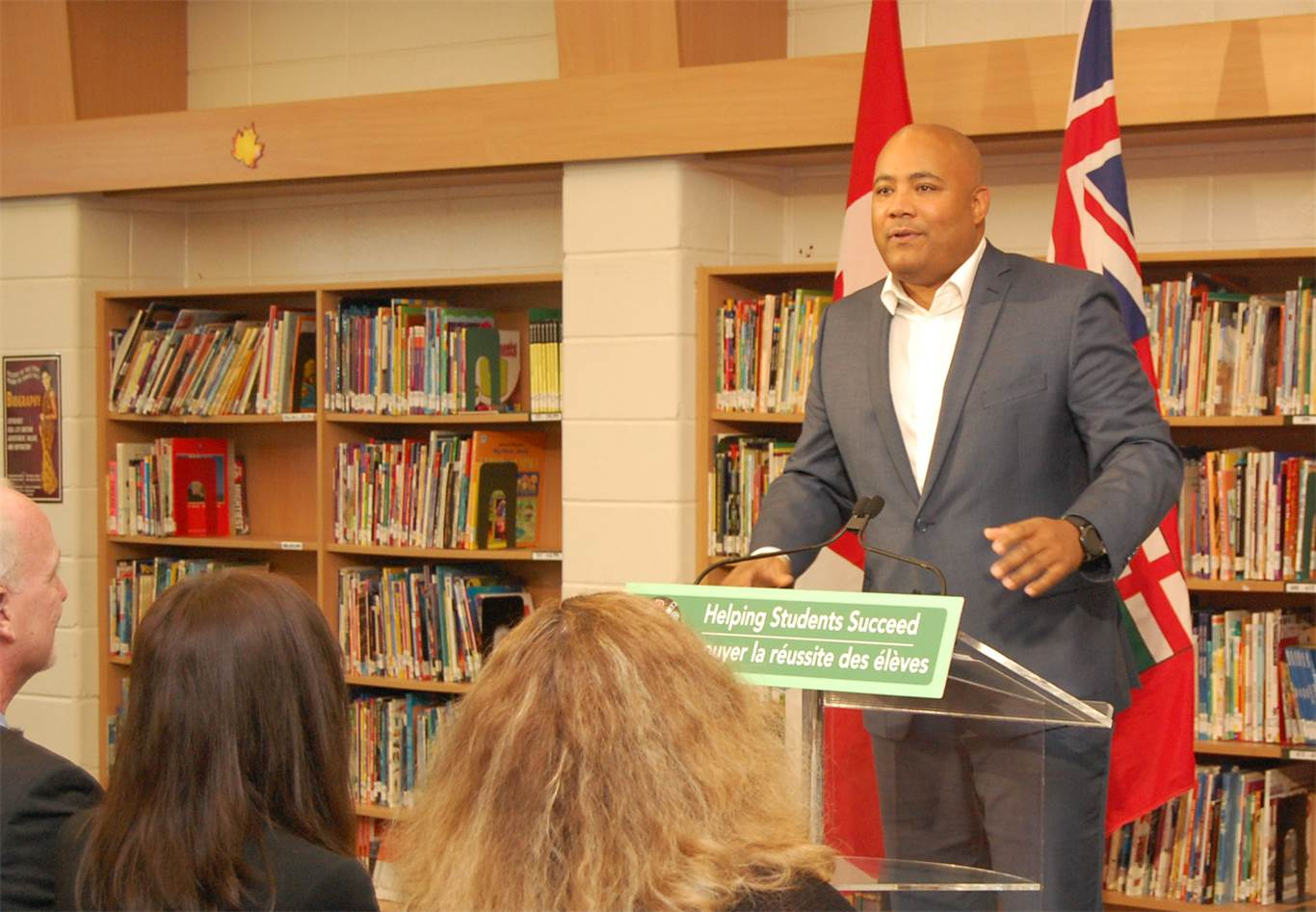 The Honourable Michael Coteau: