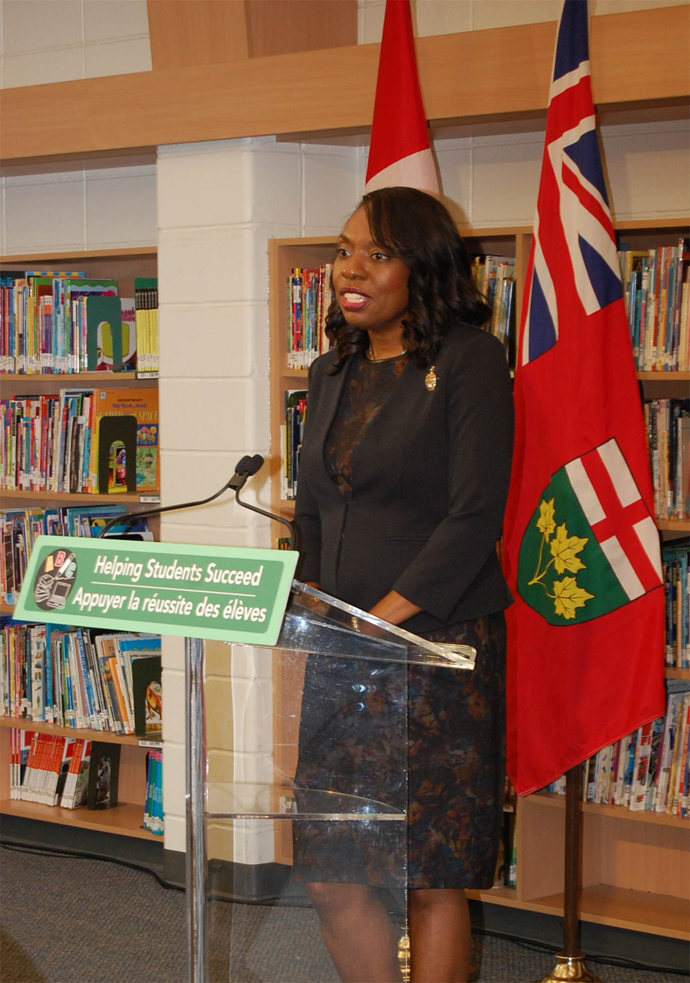 Minister of Education Mitzie Hunter:
