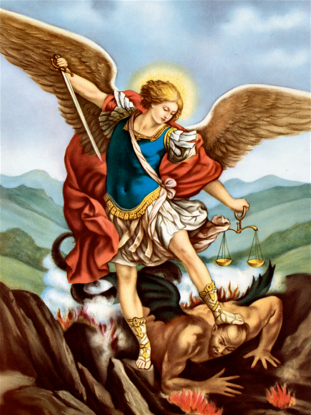 Image result for pictures of St. Michael